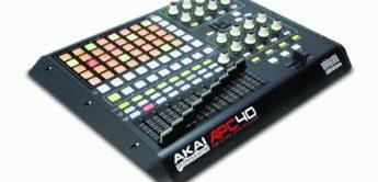 Test: AKAI APC40 Ableton Performance Controller