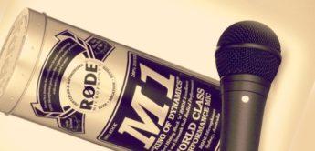 Test: RODE M1 und M1-S Gesangsmikrofon
