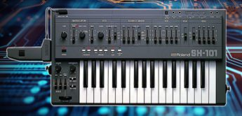 Blue Box: Roland SH-101 Analogsynthesizer, Teil 1
