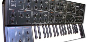 Blue Box: Yamaha CS-15, Vintage-Synthesizer