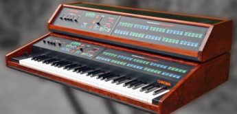Blue Box: Rhodes Chroma, Analogsynthesizer