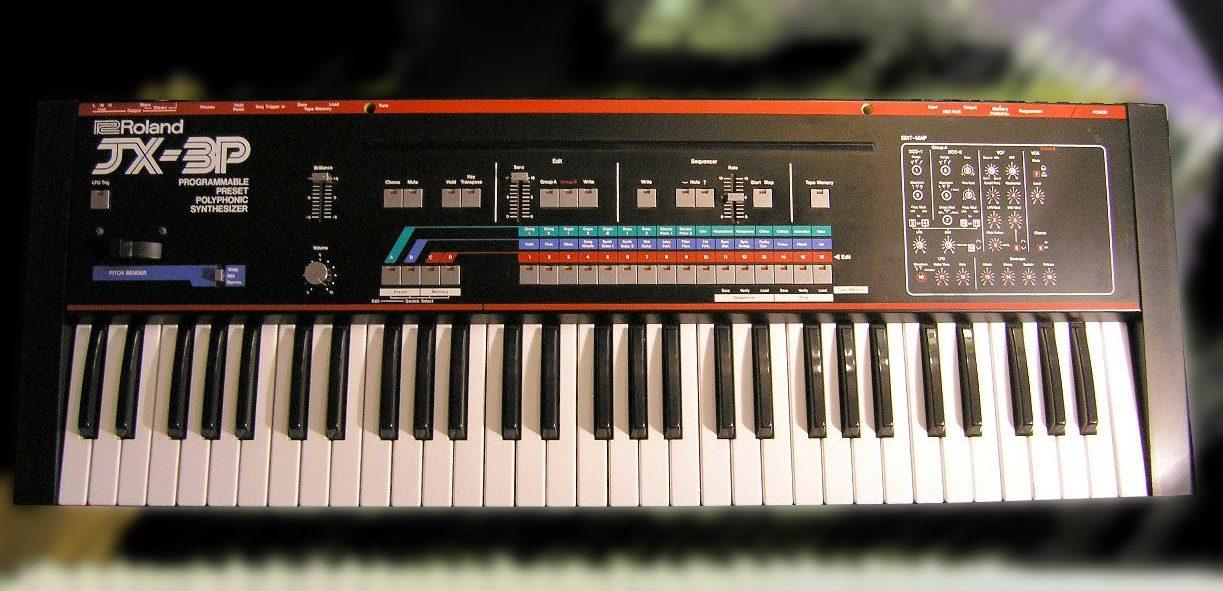 Roland JX-3P mit PG-200