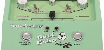 Test: Danelectro, Reel Echo, Effektgerät für Gitarre