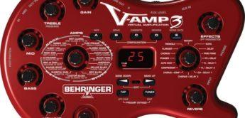 Test: Behringer, V-Amp III, Gitarren-Multieffektgerät