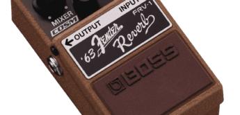 Test : BOSS, FRV-1, Effektpedal für Gitarre