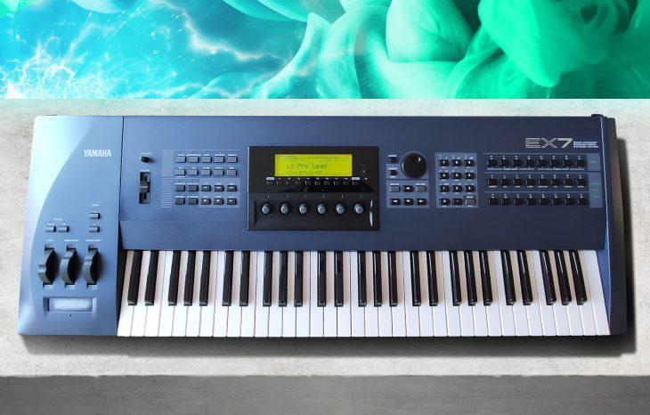 Yamaha EX7, EX5, EX5R Synthesizer