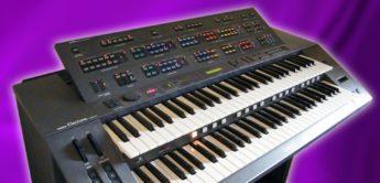 Velvet Box: Yamaha HX-1 Vintage-Orgel mit FM-Synthese