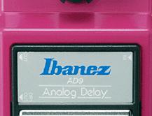 Test: Ibanez, AD9 Analog Delay, Gitarren-Effektpedal