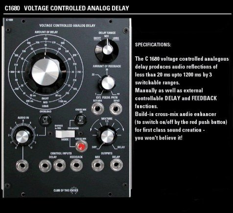 -- Das analoge Delay --