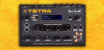 Test: DSI Tetra, Analog Desktop-Synthesizer