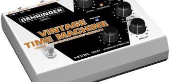 Test: Behringer, Vintage Time Machine VM1, Gitarren-Effektgerät