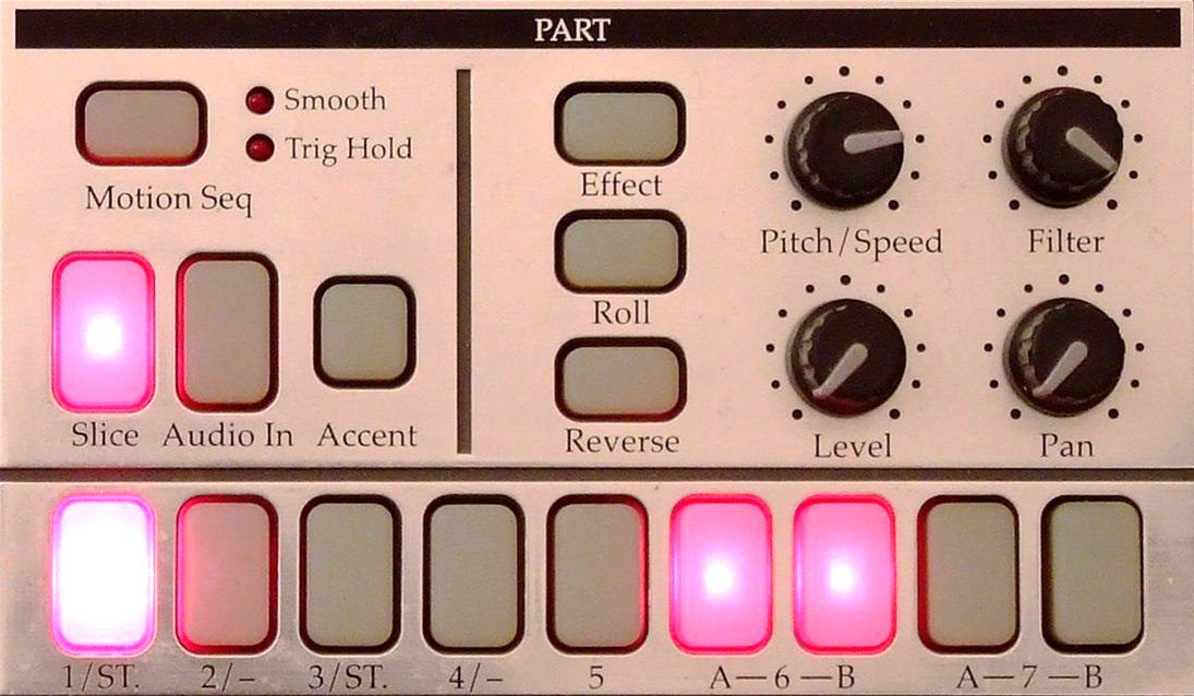 Korg Electribe Parts