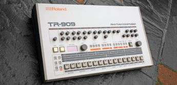 Black Box: Roland TR-909, Analog Drummachine