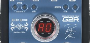 Test: Zoom, G2R Richie Kotzen Signature, Effektpedal