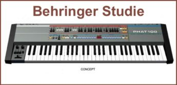 Das Experiment: Behringer Synthesizer-Studie Phat 108