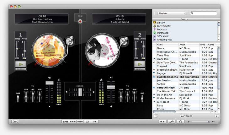Диджейская станция djay приходит на iPad. И это потрясающе! Home.