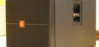 Test: JBL SRX 7A Aktive Systemanlage