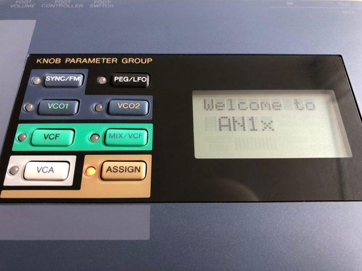 Yamaha AN1X VA-Synthesizer