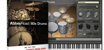 Test: Native Instruments SoundPack: Abbey Road 60s Drums