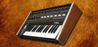 Blue Box: Moog Micromoog Analogsynthesizer