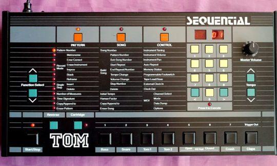 Black Box: Sequential TOM, Drumcomputer