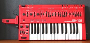 Blue Box: Roland SH-101 Analogsynthesizer, Teil 2