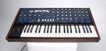 Blue Box: Korg Mono/Poly Analogsynthesizer