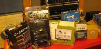 Vergleichstest Kopfhörerverstärker: Behringer HA400, Millenium HP 1, Art Headamp 4, Samson S-AMP, SM Pro Audio Q-AMP, Presonus HP4, Aphex 454 Headpod, Lake People G93