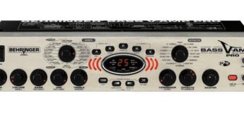 Test: Behringer, Bass V-Amp Pro, Bassverstärker