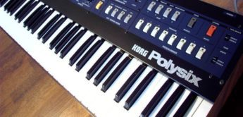 Blue Box: Korg Polysix, Analogsynthesizer