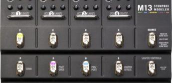 Test: Line6, M13 Stompbox Modeler, Gitarren-Effektgerät