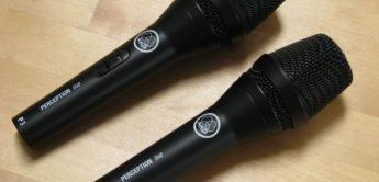 Test: AKG Perception Live Mikrofone P2, P3S, P4, P5