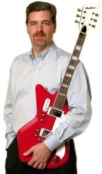 -- Director of Eastwood Guitars Mike Robinson --