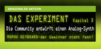 Das Experiment 3: Das AMAZONA.de Synthesizer-Konzept