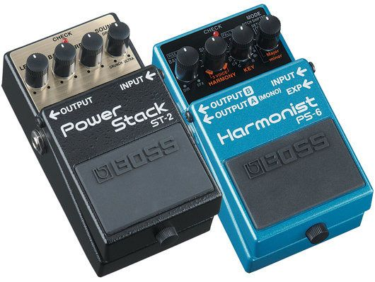 -- New BOSS Pedals --