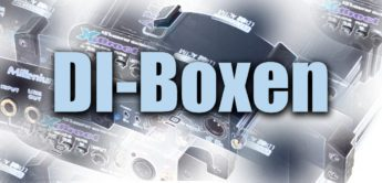 Vergleichstest DI-Boxen von Art, LD-Systems, Behringer und Millenium