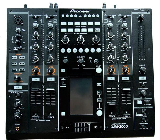 Test pioneer djm 2000 seite 2 von 6 - Table de mixage pioneer djm 2000 ...