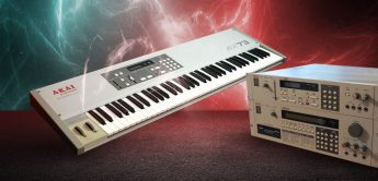 Blue Box: Akai VX90, AX73, Analog-Synthesizer (1986)