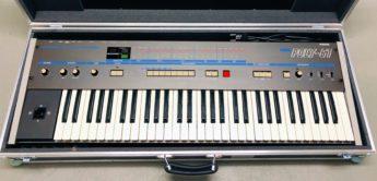 Blue Box: Korg Poly-61 und Poly-61M Analogsynthesizer von 1982