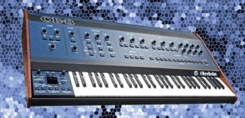 Blue Box: Oberheim OB-8 Analogsynthesizer