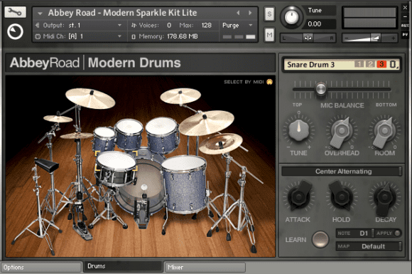 NI Abbey Road Modern Drums Sparkle Kit
