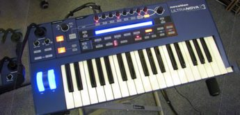 Test: Novation Ultranova VA-Synthesizer