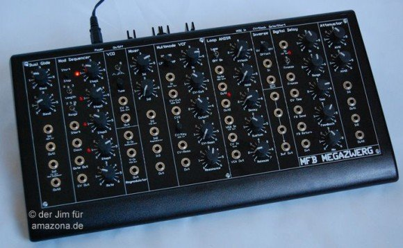 Megazwerg - der MS50 unter den MFB Synthesizern