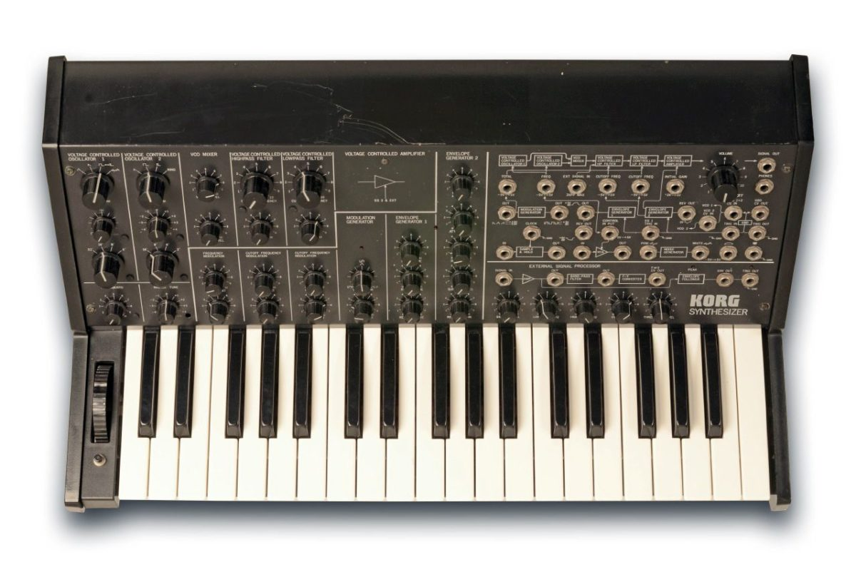 Original Korg MS-20 Analogsynthesizer