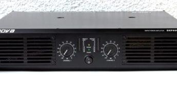 Test: Nova Endstufe DXP6000