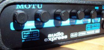 Test: Motu Audio Express