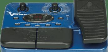 Test: Behringer X V-Amp, Gitarren-Multieffekt