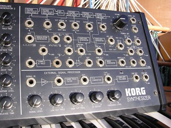Original Korg MS-20 Synthesizer