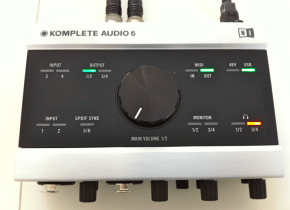 Das Komplete Audio 6 Interface