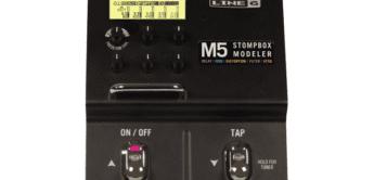 Test: Line6, M5 Stompbox-Modeler, Effektgerät